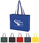 Shopping Bag With Velcro Closure